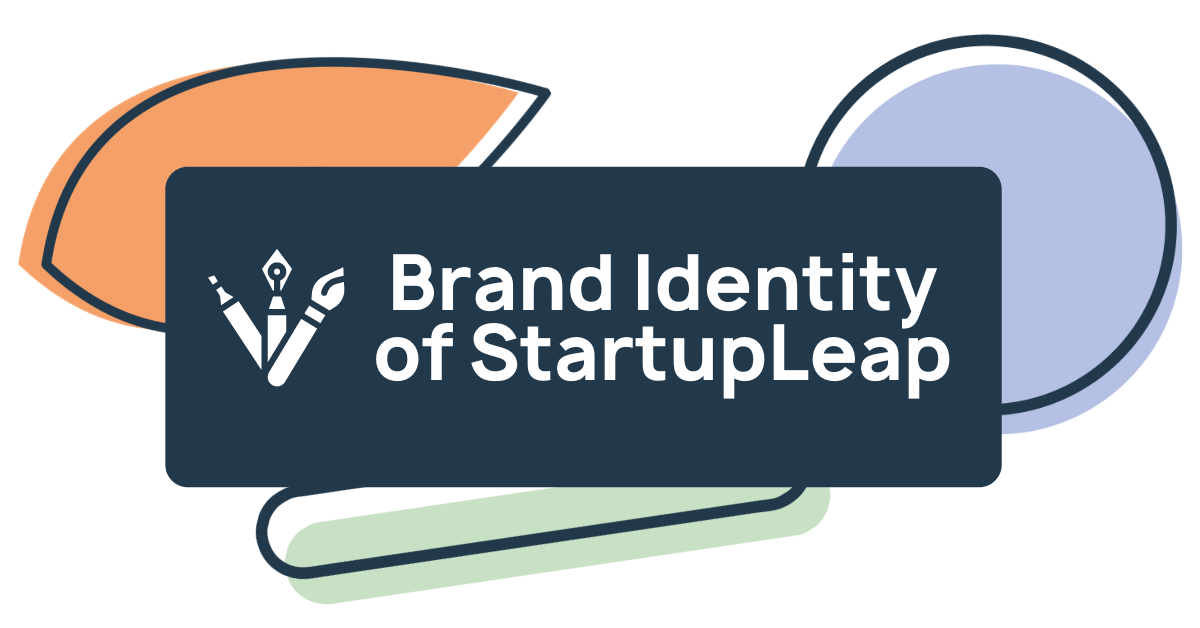 The story behind the brand identity of StartupLeap