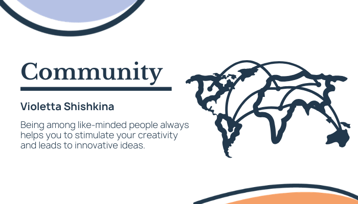 The Importance of Community with Violetta Shishkina