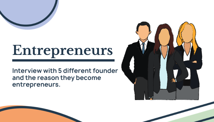 Inspiring stories of 5 founders