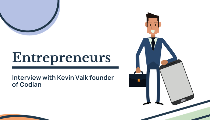 Interview with Kevin Valk about entrepreneurship